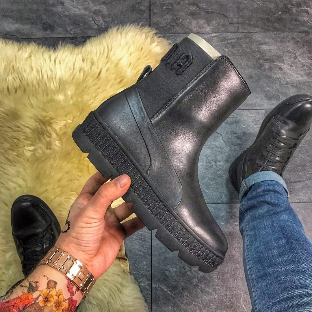 Кросівки Puma жіночі Fenty by Rihanna Chelsea Black (Чорний). Стильні жіночі кросівки