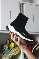Кросівки чоловічі Balenciaga Speed Black (Чорний). Стильні чоловічі кросівки, фото 1