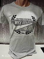 Мужские футболки с надписями оптом Серый, фото 1