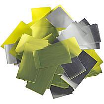 Конфетти Золотой-Серебряный Премиум 2х6 (фольгированный) 0.5кг