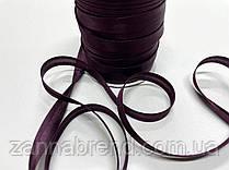 Атласная бейка темно-сиреневого цвета