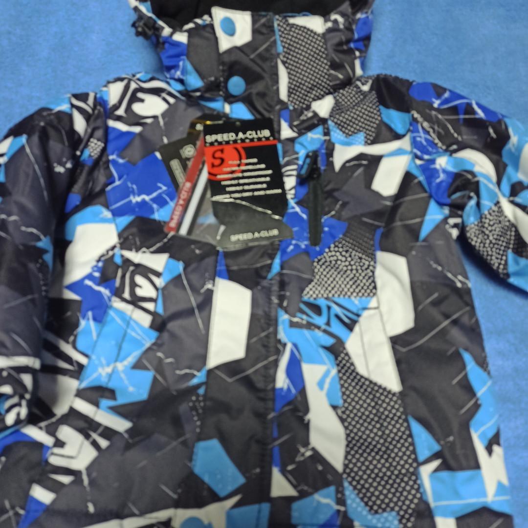 Зимняя термо куртка модная нарядная красивая теплая для мальчика.