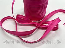 Атласная бейка розового цвета