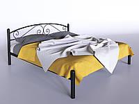 Кровать 2-спальная Виола 1600х2000 черный/бархат, фото 1