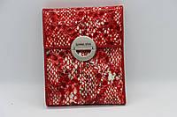Женский кожаный кошелёк Wanlima 11045341030b2 Red White