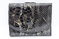 Женский кожаный кошелёк Wanlima 11044730016b1 Black