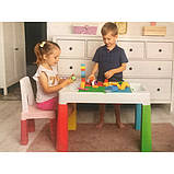 Комплект Tega MULTIFUN стол+1 стул MF-001 multicolor, фото 2
