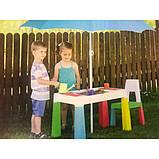 Комплект Tega MULTIFUN стол+1 стул MF-001 multicolor, фото 4