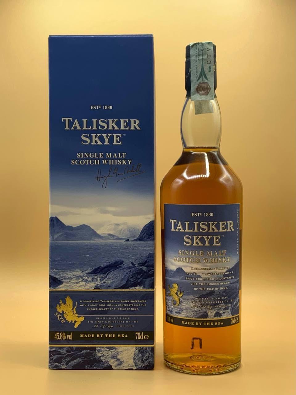 Виски Talisker Skye 0.7L Талискер Скай 0.7л
