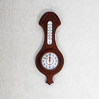 Часы, термометр прямоугольный Гранд Презент 11/450 х 185 х 70