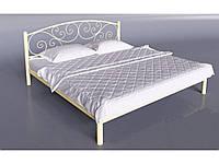 Ліжко 2-спальне Лілія 1400х2000 коричневий