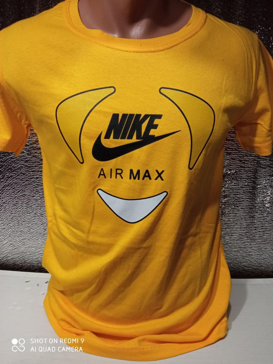 Чоловічі футболки новинки з написами оптом Жовтий