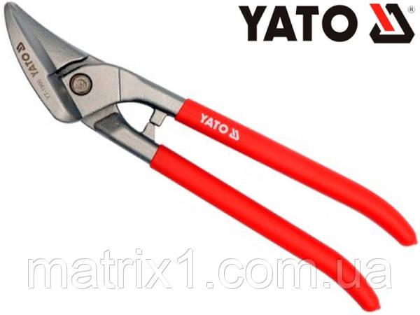Ножницы кровельные по металлу левый и прямой рез   260 мм  // YATO