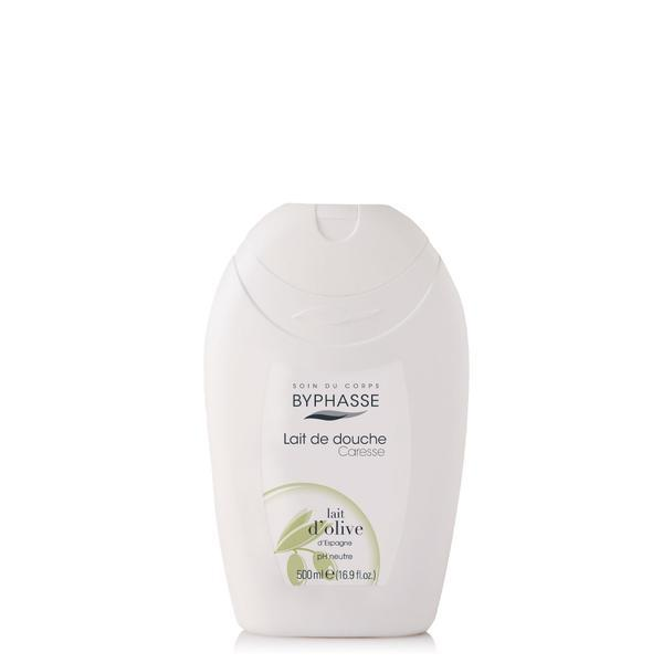 Byphasse Caresse Shower Cream new Крем для душа крем Olive milk 500 мл