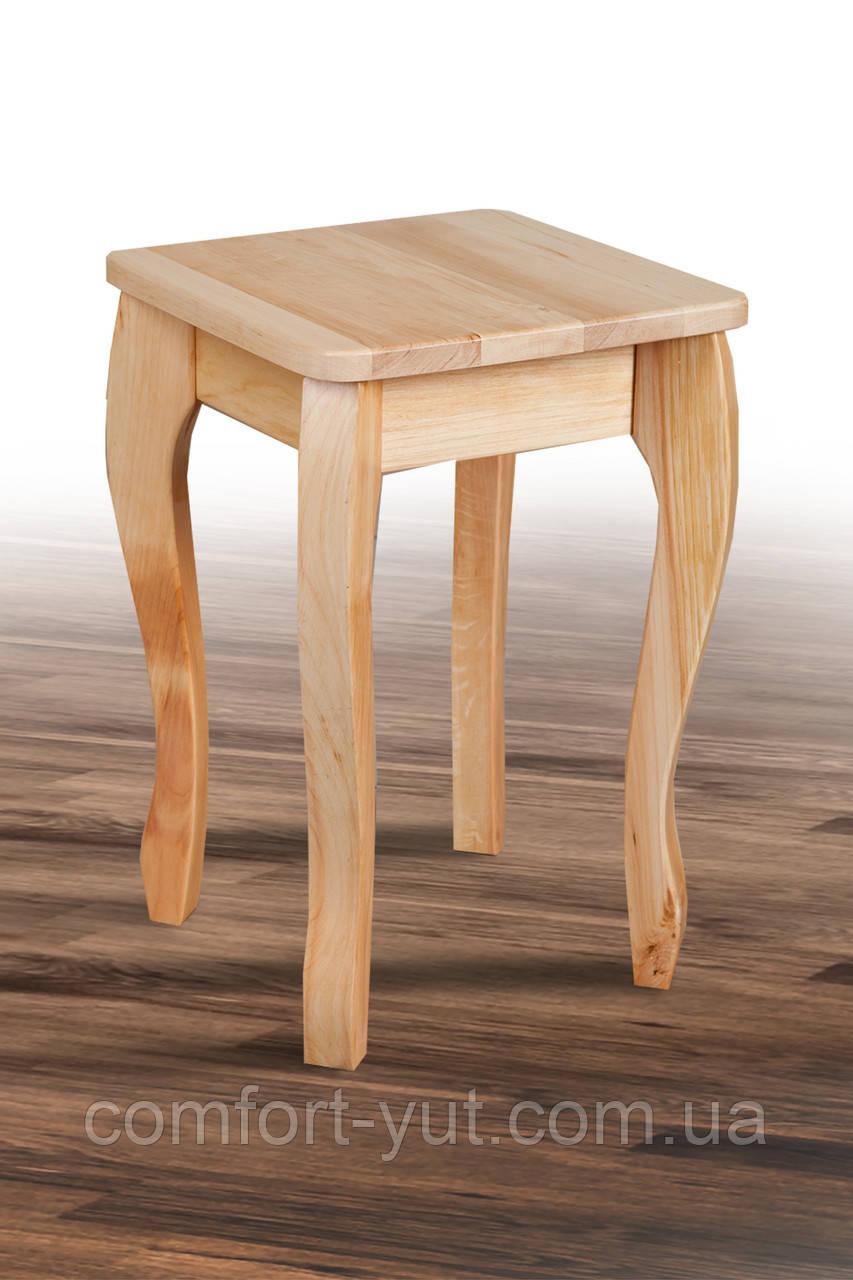 Табурет деревянный Смарт натуральный