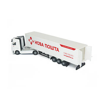 Игрушечный грузовик фура Новая почта Technopark (SB-15-12)