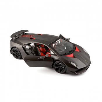 Игрушечная машинка моделька Lamborghini Sesto Elemento 1:24 Серый металлик (18-21061)
