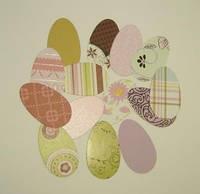 """Вырубка """"Пасхальные яйца""""_1, фото 1"""