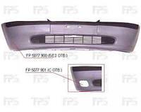 Передний бампер Opel Vectra B 96-99 под покарс., без отв. птф, с решеткой (FPS) 1400164