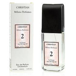 Женский парфюм Milano № 002 Christian 100 ml
