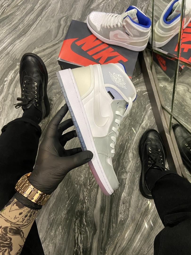 Кроссовки женские Nike Air Jordan Retro High Zoom (Белый). Стильные женские кроссовки.