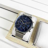 Наручные часы Guardo B01116-3 Silver-Blue