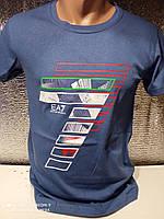 Модні чоловічі футболки оптом Джинс