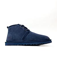 Ботинки мужские UGG Man Neumel Blue (Синий). Стильные мужские ботинки.