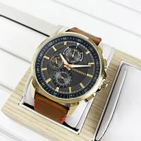 Наручные часы Guardo 11457-4 Brown-Gold-Gray, фото 1