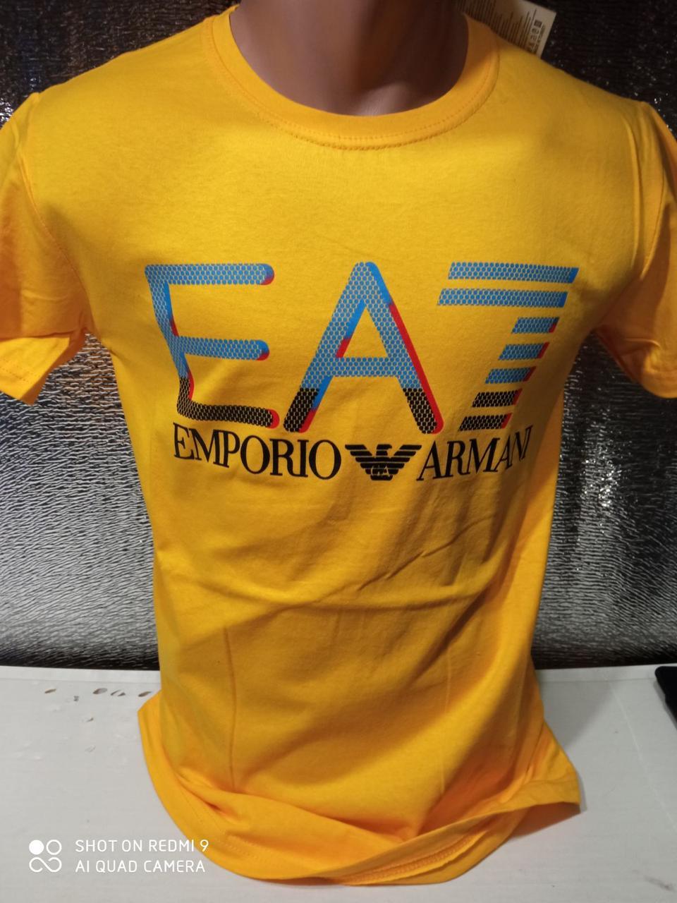 Популярні чоловічі футболки оптом Жовтий