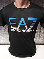 Популярні чоловічі футболки оптом Чорний, фото 1