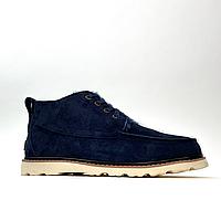 Ботинки мужские UGG Man Neumel Blue White (Синий). Стильные мужские ботинки.