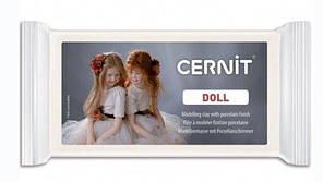 Полімерна глина для ліплення ляльок Cernit Doll Церн Дол, колір Білий напівпрозорий