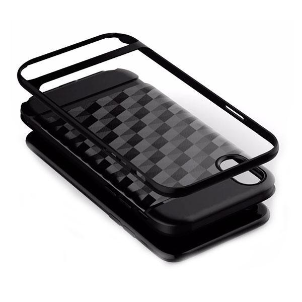 Накладка для iPhone X/iPhone XS силикон 3D Ling Золотой