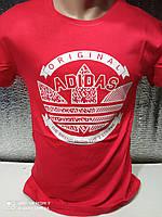 Чоловічі футболки з принтами оптом Червоний