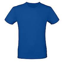 Футболка мужская синяя, размеры S,M,L,XL, XXL