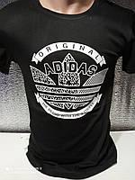 Чоловічі футболки з принтами оптом Чорний, фото 1
