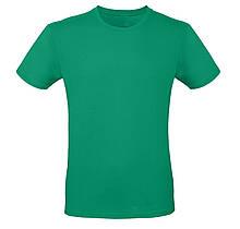 Футболка мужская зелёная, размеры S,M,L,XL, XXL
