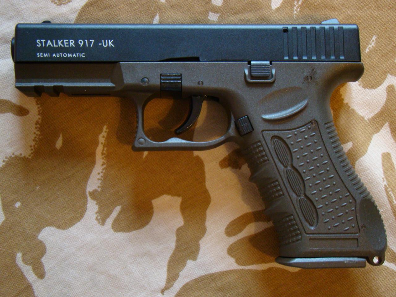 Стартовый пистолет Stalker 917 Haki
