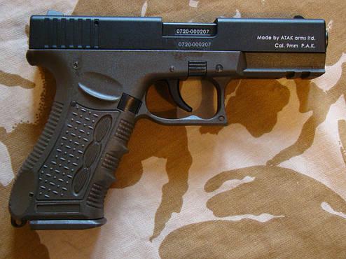 Стартовый пистолет Stalker 917 Haki, фото 2