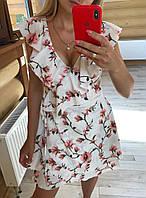 Очень красивое и легкое платье на запах