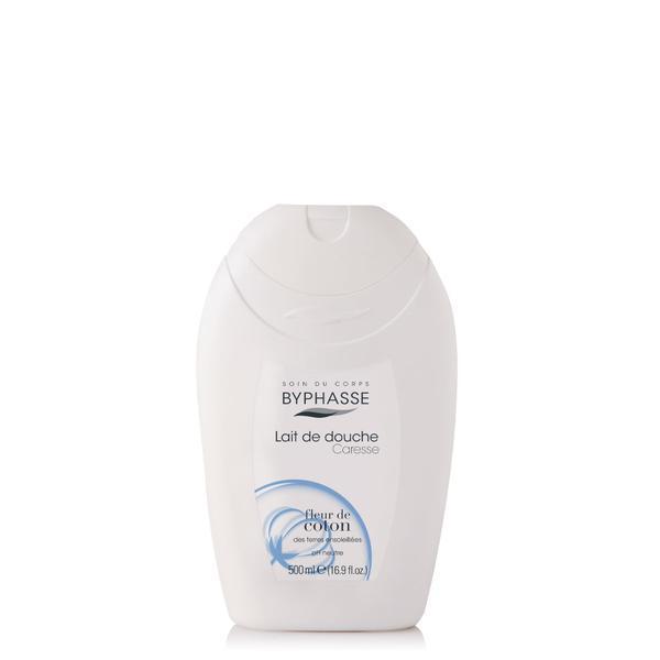 Byphasse Caresse Shower Cream new Крем для душа крем Cotton flower 500 мл