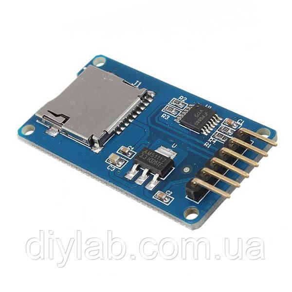 MicroSD card reader для Arduino