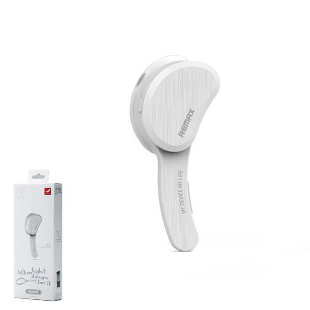 Bluetooth-гарнитура Remax RB-T10 White (6954851261483)