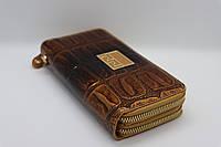 Жіночий шкіряний гаманець Wanlima 82022340002 Coffee