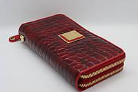Жіночий шкіряний гаманець Wanlima 82022849998 Red
