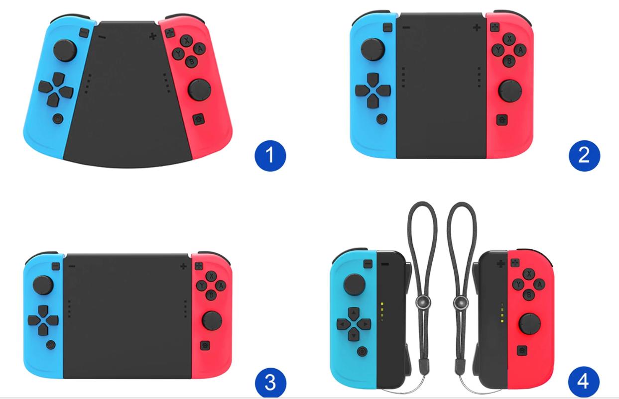 Набір власників Joy-con DOBE 5 в 1 для Nintendo Switch
