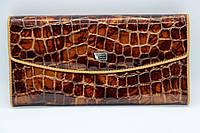 Жіночий шкіряний гаманець Wanlima 82042840835b1 Light Coffee