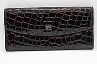 Жіночий шкіряний гаманець Wanlima 82042840835b1 Black/Gray, фото 1