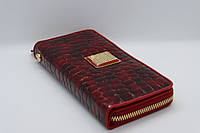 Жіночий шкіряний гаманець Wanlima 82022849997 Red